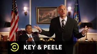 Key & Peele - Obama's Anger Translator - S**t Mitt Romney Doesn't Say