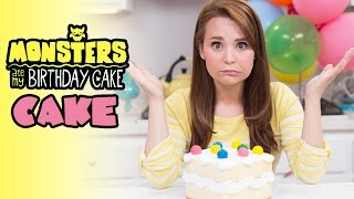 MONSTERS ATE MY BIRTHDAY CAKE... CAKE! - NERDY NUMMIES