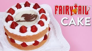 FAIRY TAIL FANTASIA CAKE - NERDY NUMMIES