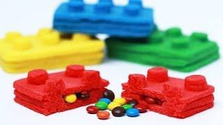 LEGO PINATA COOKIES - NERDY NUMMIES
