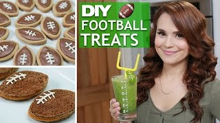 DIY FOOTBALL TREATS!