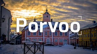WINTER EXPLORATION IN PORVOO, FINLAND