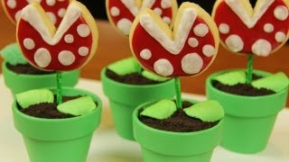 MARIO PIRANHA COOKIE POPS - NERDY NUMMIES