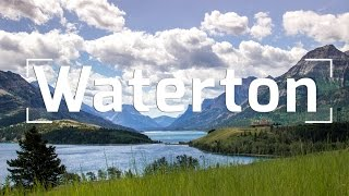 Bears, Haunted Hotels & Helicopters at Waterton Lakes Nat'l Park!!!
