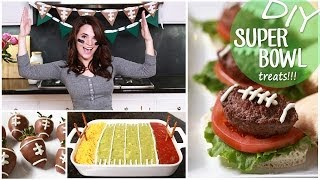 DIY Easy Super Bowl Treats