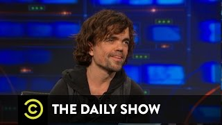 The Daily Show - Peter Dinklage