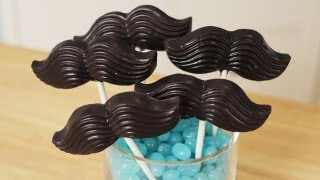MUSTACHE CANDY POPS - NERDY NUMMIES