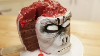 INDIANA JONES MONKEY BRAIN CAKE - NERDY NUMMIES