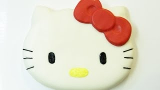 HOW TO MAKE HELLO KITTY CAKE - NERDY NUMMIES