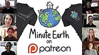 MinuteEarth Patreon Announcement + Tshirts