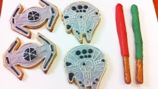 HOW TO MAKE STAR WARS COOKIES - NERDY NUMMIES