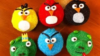 ANGRY BIRDS CUPCAKES - NERDY NUMMIES