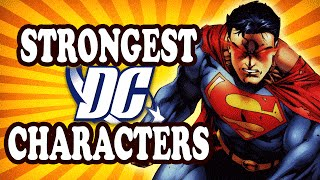 Top 10 Physically Strongest DC Characters — TopTenzNet