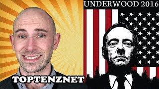 Top 10 Reasons Frank Underwood Would be a Great President (House of Cards) — TopTenzNet