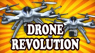 Top 10 Industries Being Revolutionized by Drones — TopTenzNet