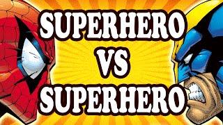 Top 10 Superhero v Superhero Battles — TopTenzNet