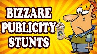 Top 10 Bizarre Publicity Stunts — TopTenzNet