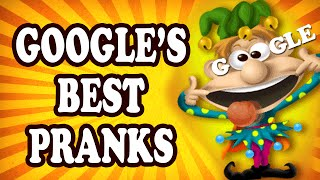 Top 10 Google April Fool's Day Hoaxes — TopTenzNet