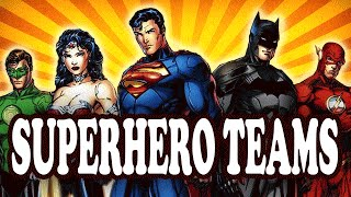 Top 10 Most Powerful Superhero Teams — TopTenzNet