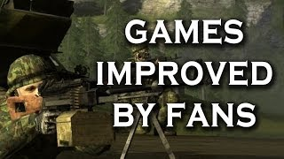 Top 10 Games That Fans Have Vastly Improved