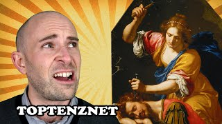 Top 10 Most Gruesome Deaths in the Bible — TopTenzNet
