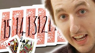 Shuffling Card Trick - Numberphile