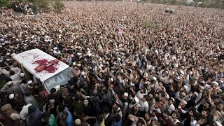 100,000 Give Islamist Murderer A Hero's Funeral