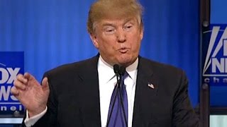 Donald Trump Defends His Penis Size In A Debate