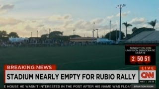 Rubio Rally Fails Miserably In His Home State