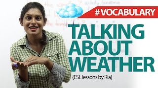 Talking about Weather in English - Free Spoken English Lessons