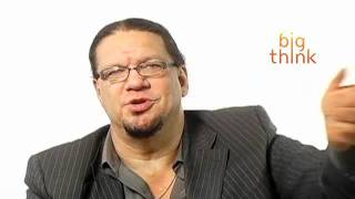 How Penn Jillette Prepares for a Show
