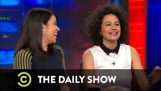 The Daily Show - Abbi Jacobson & Ilana Glazer
