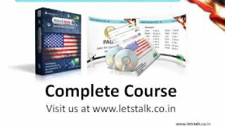 Anerican Voice & Accent Training Module @ www.letstalk.co.in