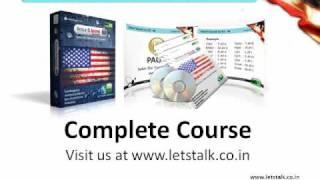 Anerican Voice & Accent Training Module @ www.letstalk.co.in