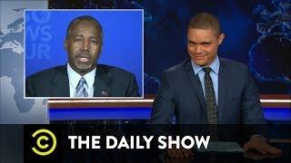 The Daily Show - Ben Carson's Public Breakup