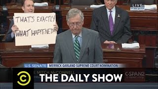 The Daily Show - Republicans SCOTUS-Block President Obama