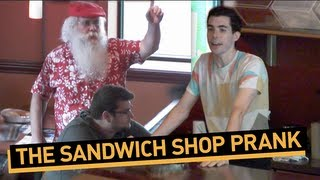 Sandwich Shop Prank Shocks Customers