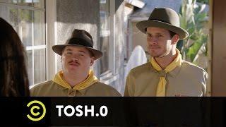 Tosh.0 - CeWEBrity Profile - Fedora Hero Saves Eggs