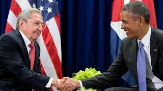 President Obama Makes Historic Visit To Cuba