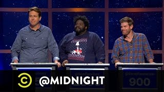 Pete Holmes, Ron Funches, Steve Rannazzisi - Vine-Os - @midnight w/ Chris Hardwick