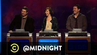Eugene Mirman, Kristen Schaal, Doug Benson - BuzzSpeed - @midnight with Chris Hardwick