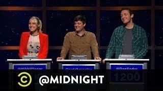 Nikki Glaser, Nate Bargatze, Dan Soder - Florida-Man - @midnight w/ Chris Hardwick