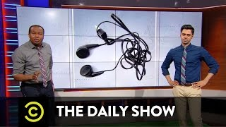 The Daily Show - Third Month Mania Team Spotlight - Tangled Headphone Cords