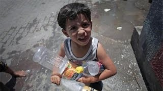 95% Of Gaza Water Is Undrinkable, Mixed With Sewage & Pesticides