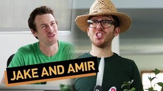 Jake and Amir: Gardening