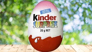 How To Make a Giant Kinder Surprise Egg