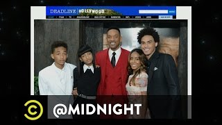 Reggie Watts, Rachel Bloom, Emo Philips - Famous Family Spin-Offs - @midnight with Chris Hardwick