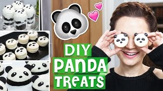 DIY PANDA TREATS!