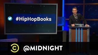 #HashtagWars - #HipHopBooks - @midnight with Chris Hardwick