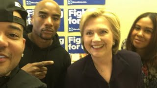 Hillary Tells Hip Hop Radio Show She Always Carries Hot Sauce With Her
